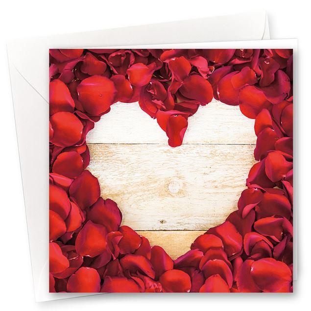 """Karten """"In Liebe"""" (10er- Set)"""