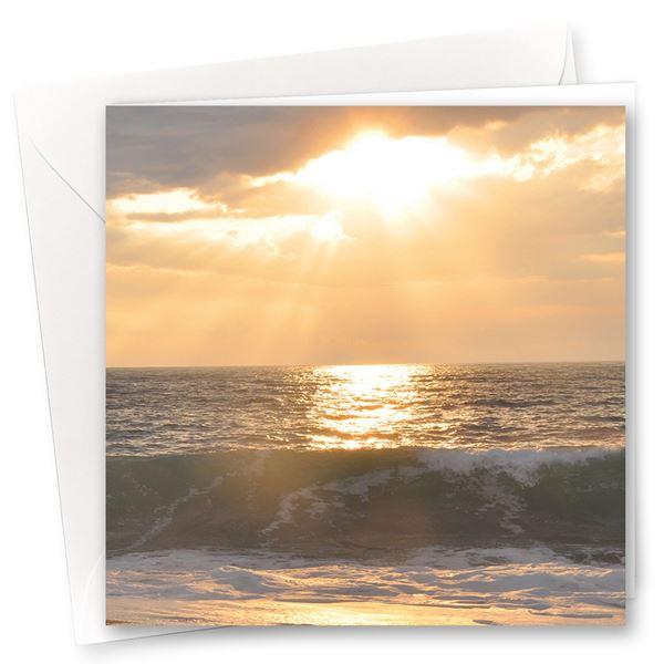 "Karten ""Sonnenuntergang"" (10er- Set)"