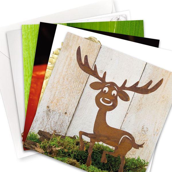"Kartenset ""Weihnachten / Silvester "" (10er-Set)"