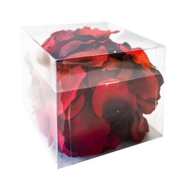 Künstliche Rosenblätter rot  100 Stk.