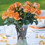 Rosenblätter orange von blume 3000