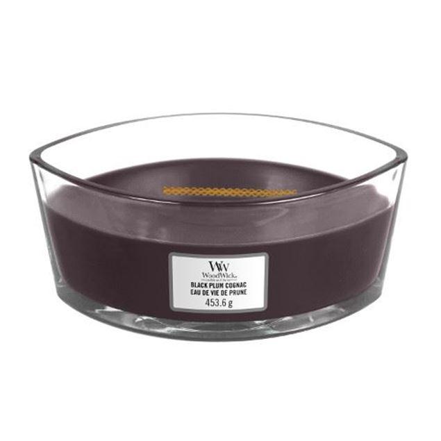 Bild von Black Plum Cognac Ellipse