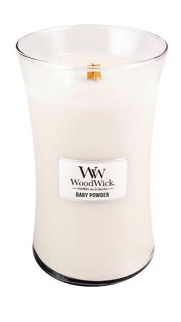 Bild von Baby Powder Woodwick Large Jar
