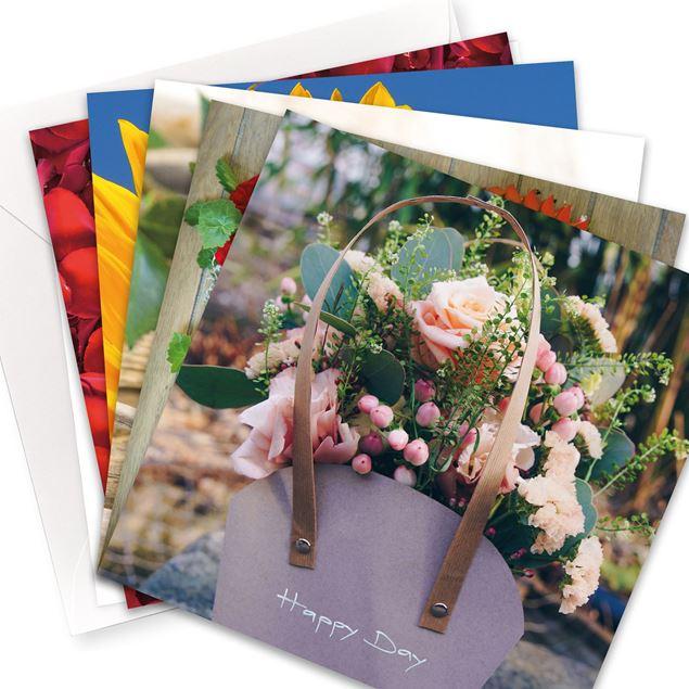 "Kartenset ""FlowerPower"" (10er-Set)"
