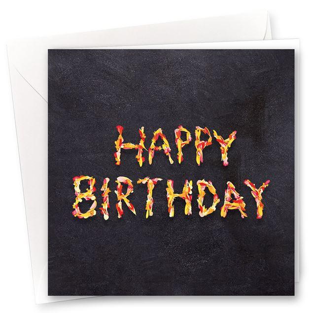 """Karten """"Happy Birthday"""" (10er-Set)"""