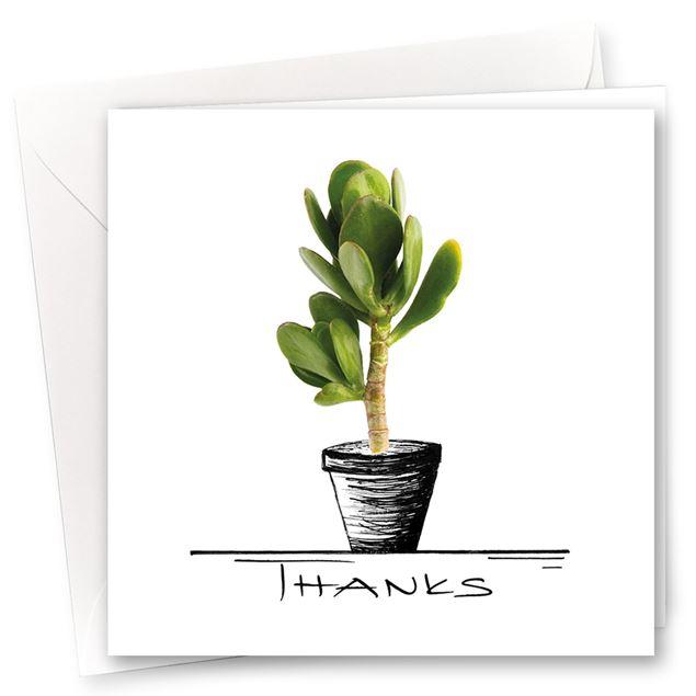 """Karten """"Thanks"""" (10er-Set)"""