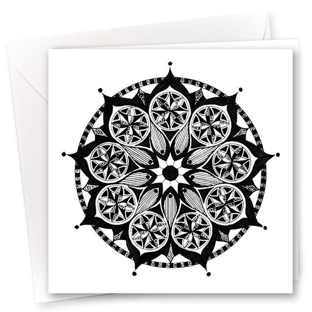 """Karten """"Mandala"""" (10er-Set)"""