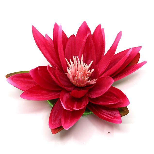 Bild von Seerose mit 5 Blätter Pink Ø 16cm