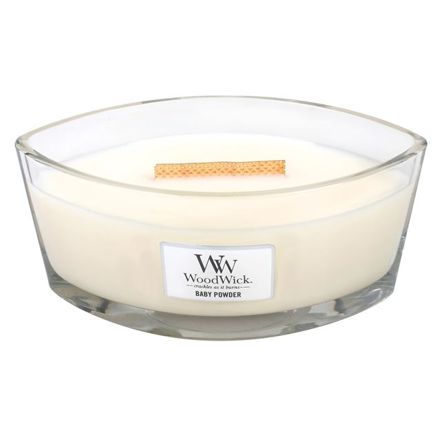 Bild von Baby Powder Woodwick Ellipse