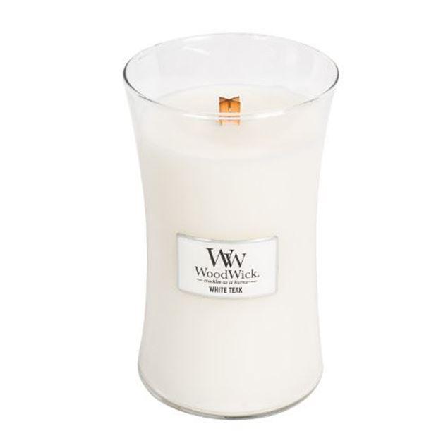 Image de White Teak Large Jar