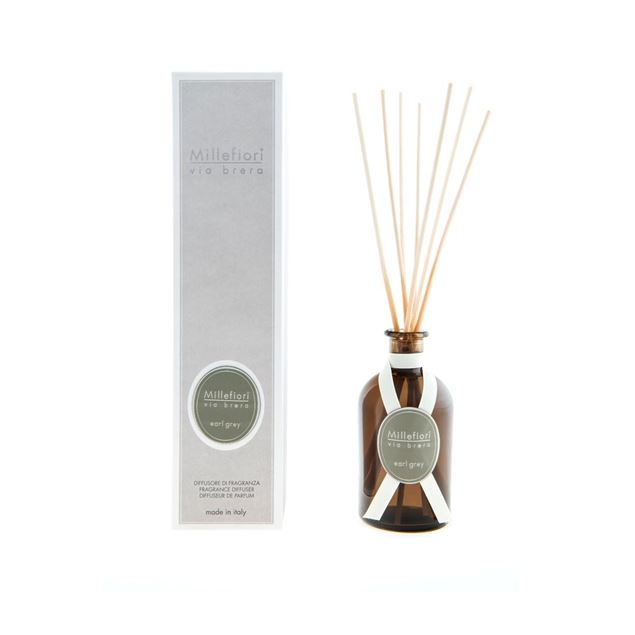 Image de Via Brera Stick Diffuser 250ml Earl Grey