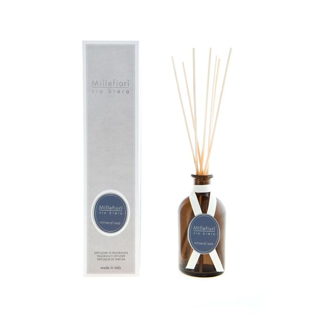 Image de Via Brera Stick Diffuser 250ml Mineral Sea
