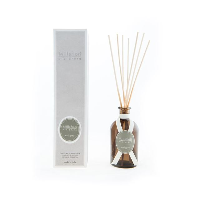 Image de Via Brera Stick Diffuser 100ml Earl Grey
