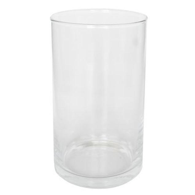 Glasvase, rund, Ø 11.5 cm x H 20 cm