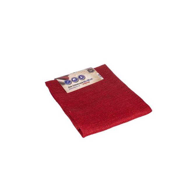 Image de Sac de protection de jute 60x80cm rouge