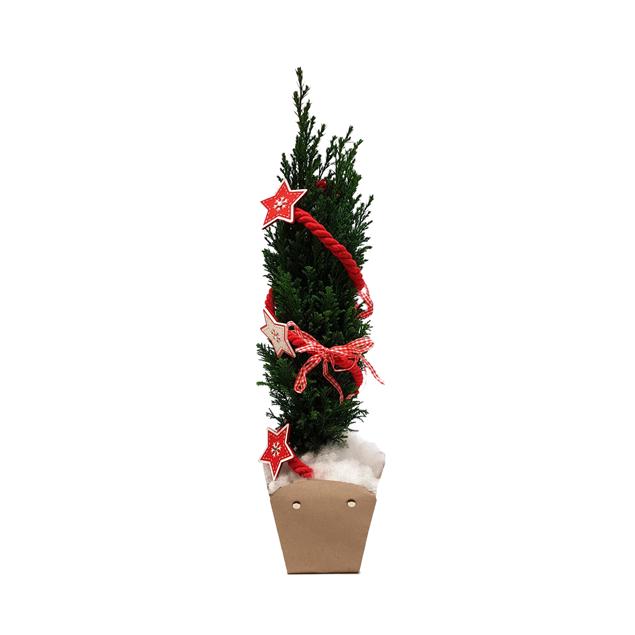 Image de Arbre de Noël 11cm Ø  décoré
