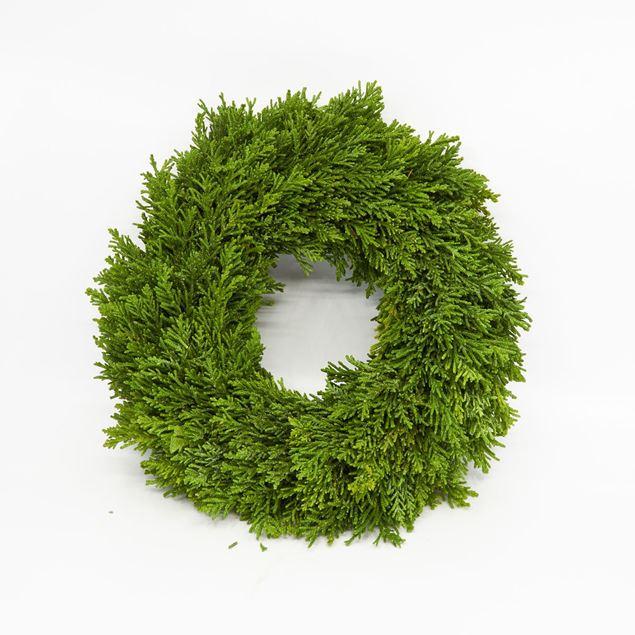 Image de Couronne lié 'conifère' Ø30 cm