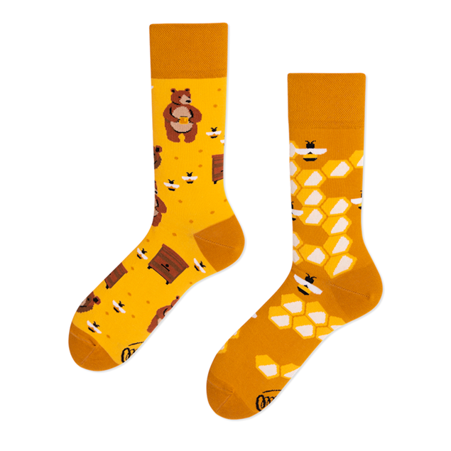 Honey Bear Socks