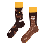 Fluffy Alpaka Socks