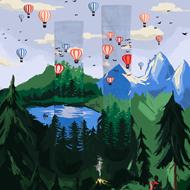 Adventure Balloon Socks