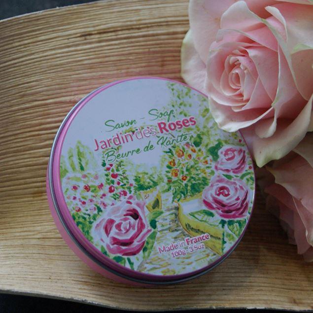 savon-jardin-des-roses-en-boîte-métal
