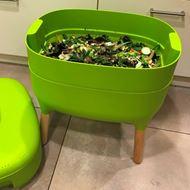 Wurmkomposter grün