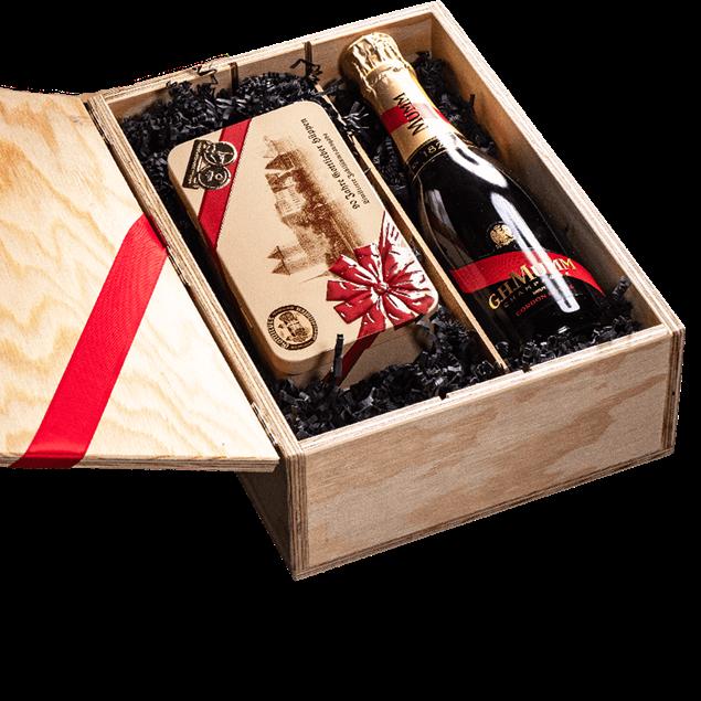 Image de Coffret cadeau Gottlieber champagne Mumm