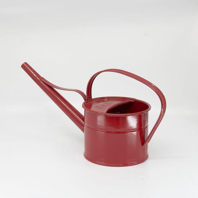 Image de Arrosoir 0.8l - tuyau 20cm rouge rubis